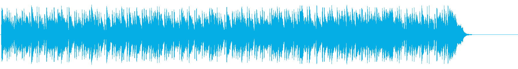 爽やかな午後のリゾート風ボサノバポップの再生済みの波形