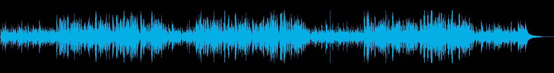 リラックスできるジャズ風クリスマスソングの再生済みの波形