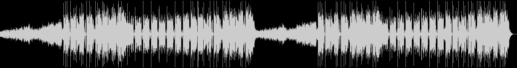 力強いサウンドのフューチャーベースの未再生の波形