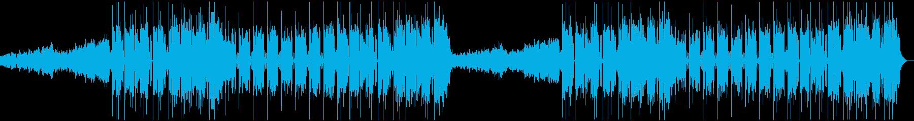 力強いサウンドのフューチャーベースの再生済みの波形