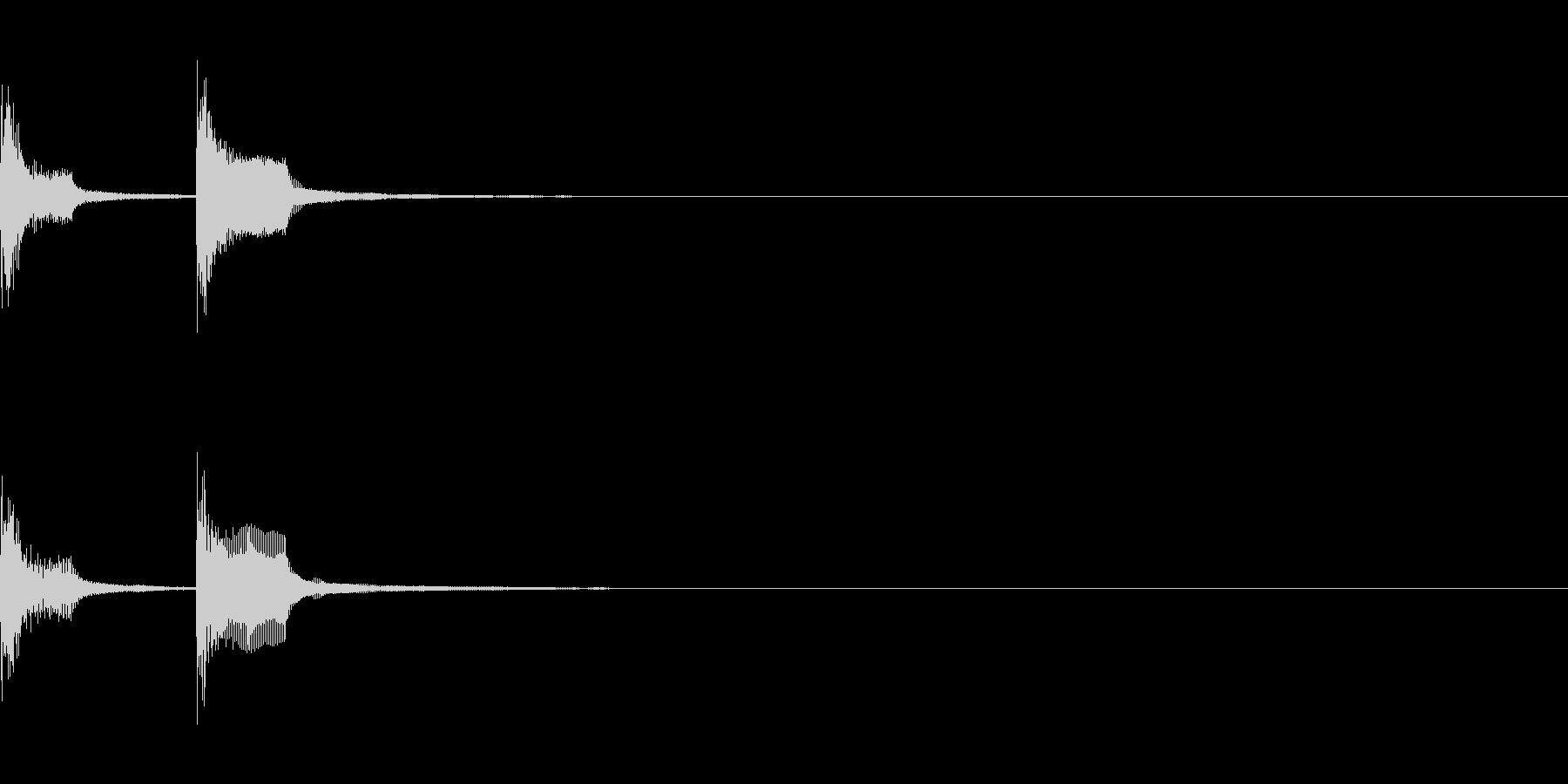 チャンチャン(失敗、台無し)A05の未再生の波形
