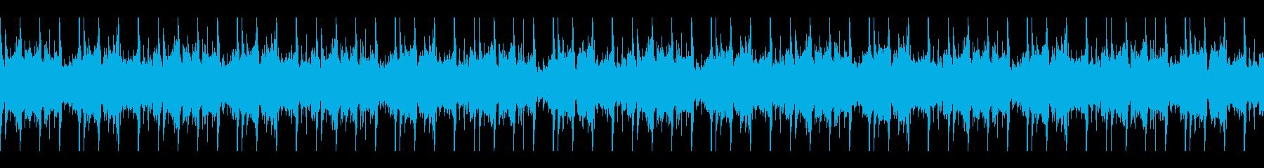 踊れるアンビエント1の再生済みの波形