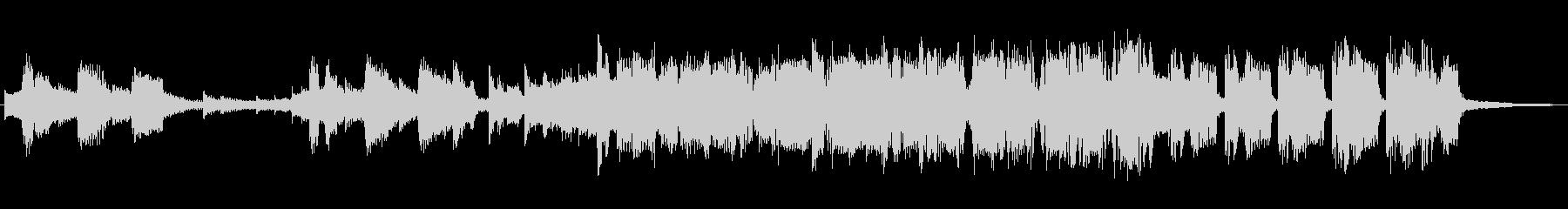 フューチャー系EDMの15秒ジングルの未再生の波形