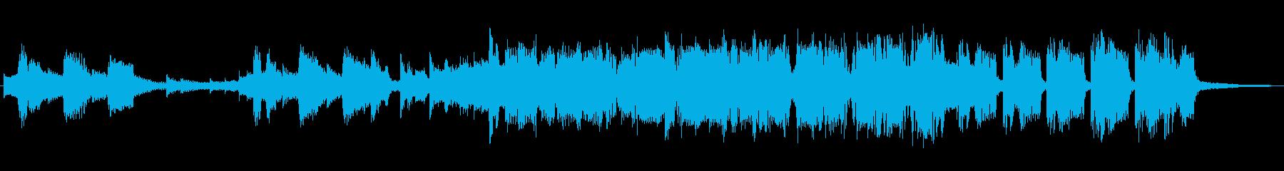 フューチャー系EDMの15秒ジングルの再生済みの波形