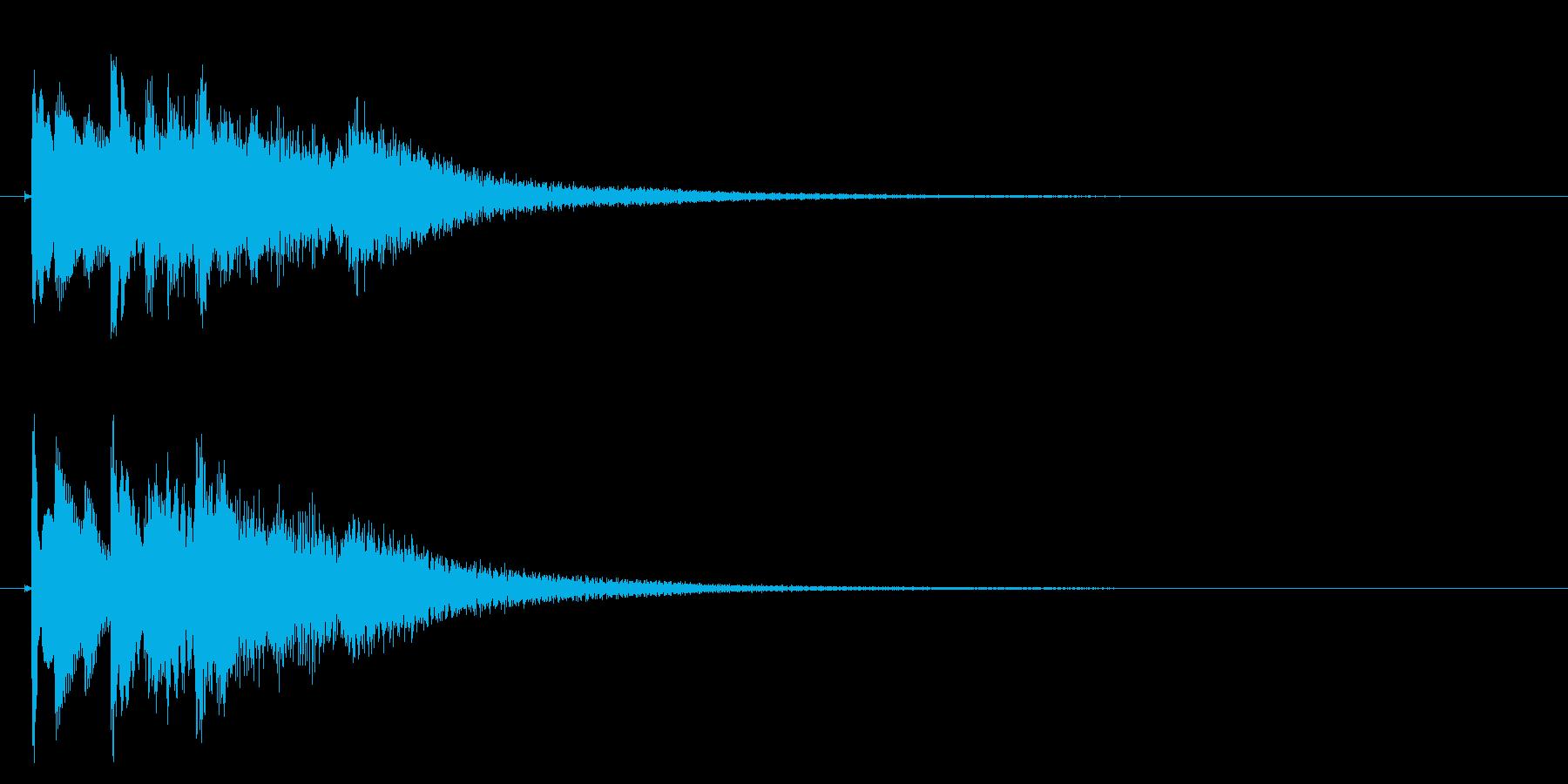 琴のフレーズ1☆調律1の再生済みの波形