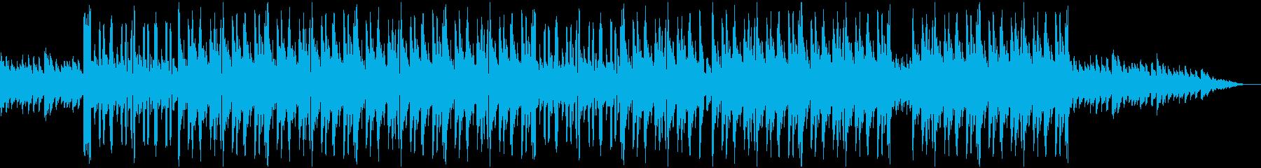 ピアノとシンセの切ないで奏でるビートの再生済みの波形