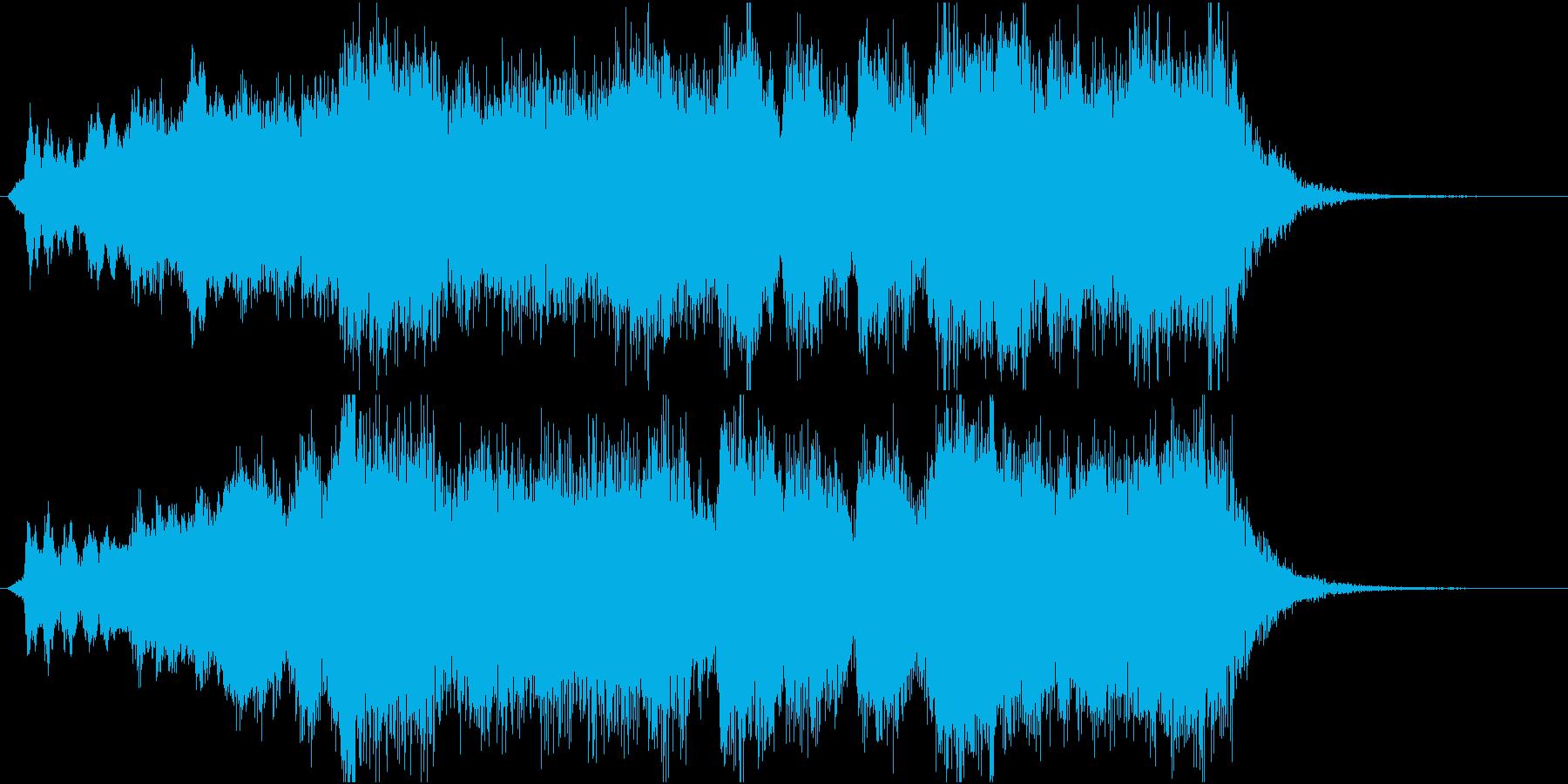 発表!表彰式ファンファーレ【1等・金賞】の再生済みの波形