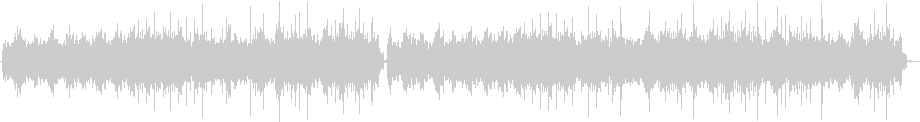 透明感あるピアノソロの未再生の波形
