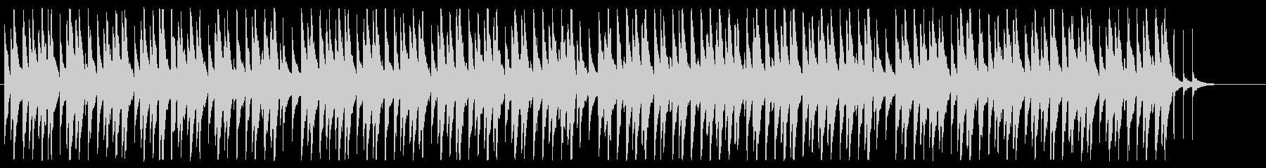 ピアノとベルを主体としたほのぼの日常系の未再生の波形