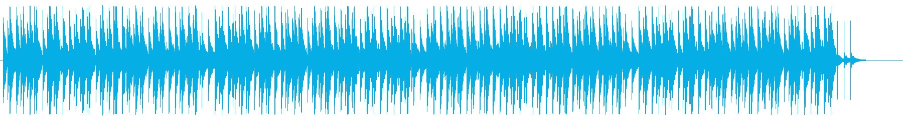 ピアノとベルを主体としたほのぼの日常系の再生済みの波形