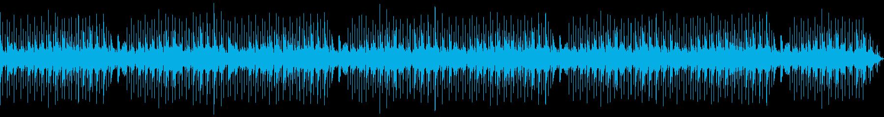 【主張しない背景音楽】ヒーリング2の再生済みの波形