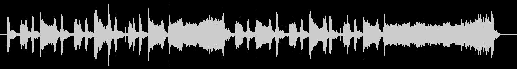 サックスによるジャジーなジングル 22秒の未再生の波形