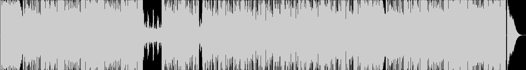 軽快な70年代フュージョンサウンドの未再生の波形