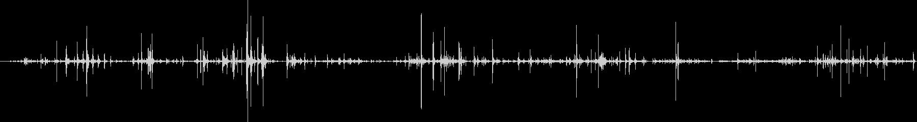 ループ・ネバネバしたものがうごめく音4の未再生の波形