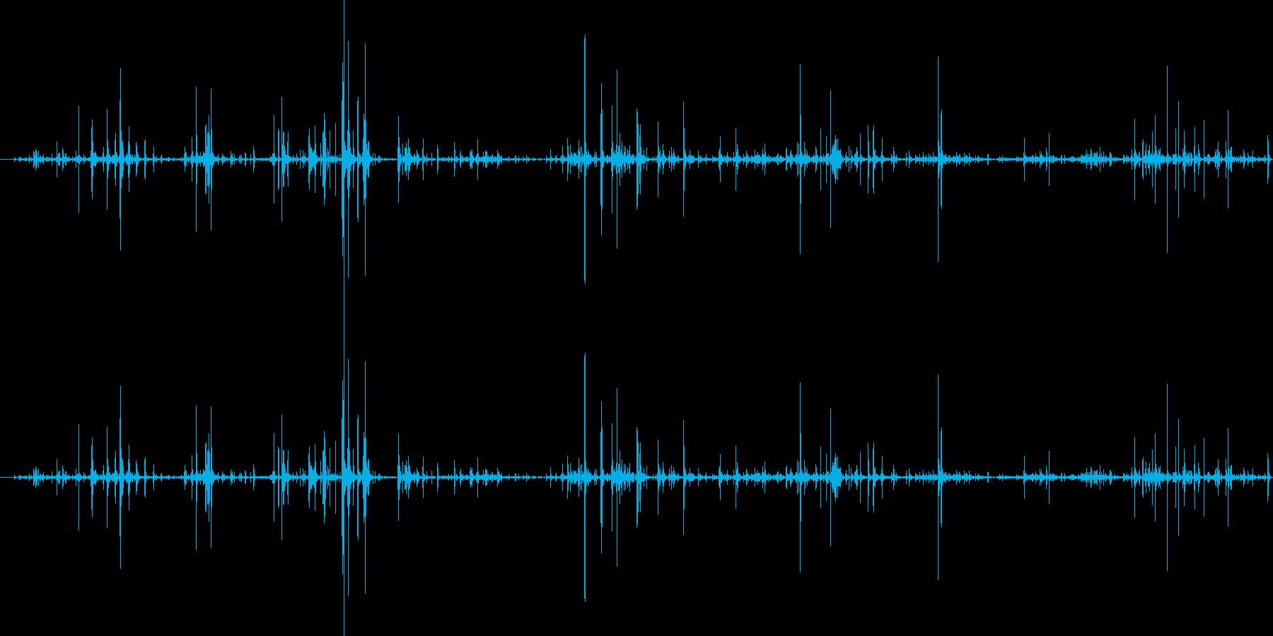 ループ・ネバネバしたものがうごめく音4の再生済みの波形