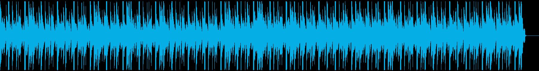 軽快/おしゃれなクラブ系ハウス30秒の再生済みの波形