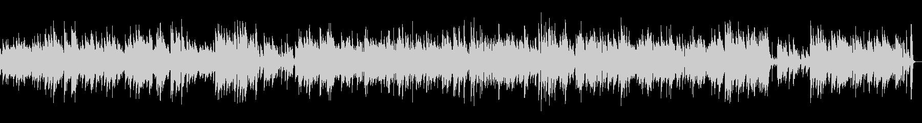 ビブラフォンの音色が優しいジャズの未再生の波形