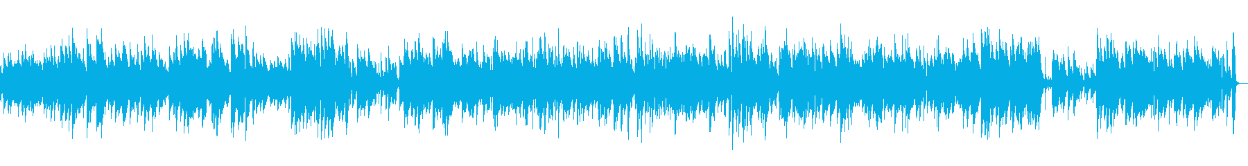ビブラフォンの音色が優しいジャズの再生済みの波形
