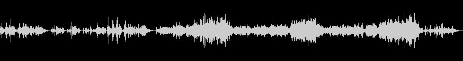 【生演奏】カッコいいバイオリンソナタ3章の未再生の波形