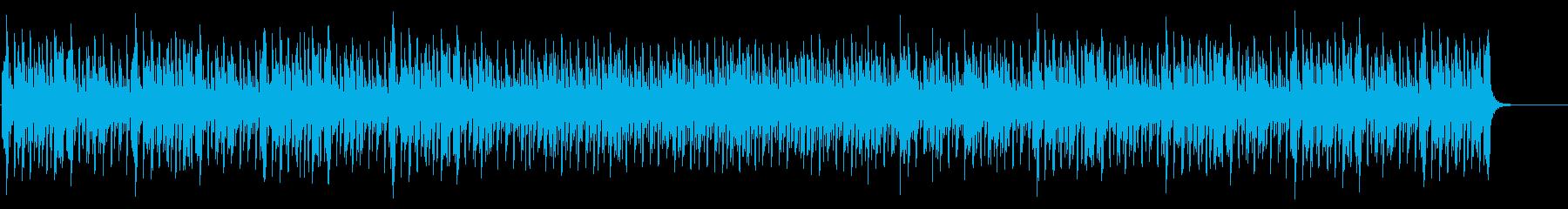 明るく楽しいサイエンスな曲の再生済みの波形