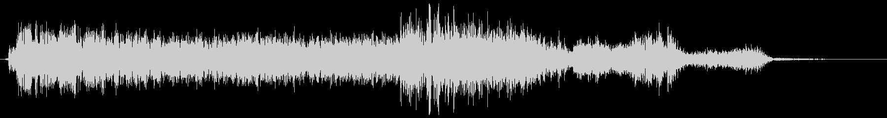 ウィーン(機械の動く音)の未再生の波形