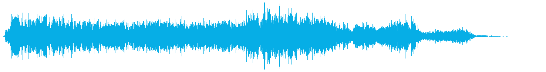 ウィーン(機械の動く音)の再生済みの波形