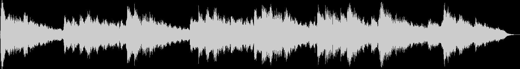 Gently warm BGM of flute main's unreproduced waveform