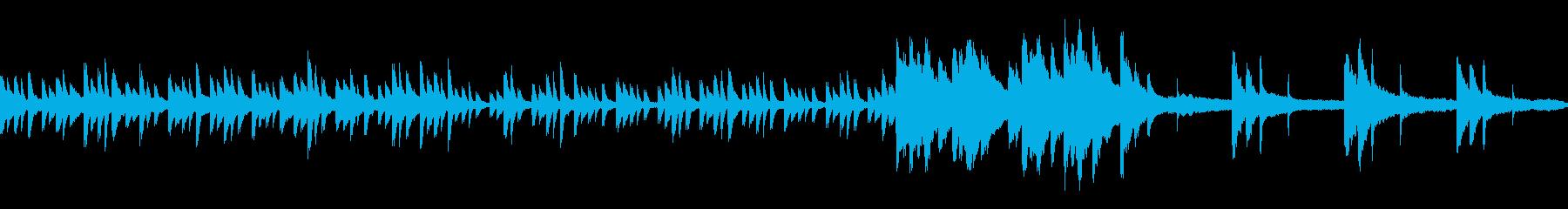 神秘的・癒やし系生ピアノ演奏 ループ素材の再生済みの波形