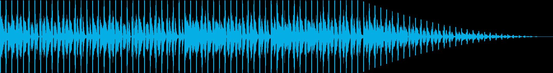 おしゃれなファンク、ハウスの再生済みの波形