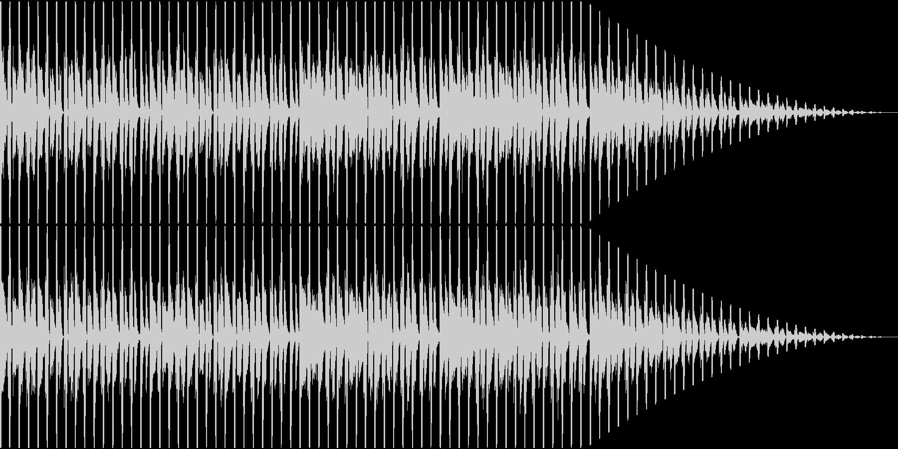 おしゃれなファンク、ハウスの未再生の波形