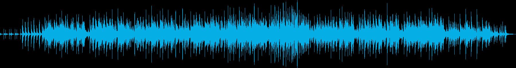 クリスマスのジャズワルツの再生済みの波形