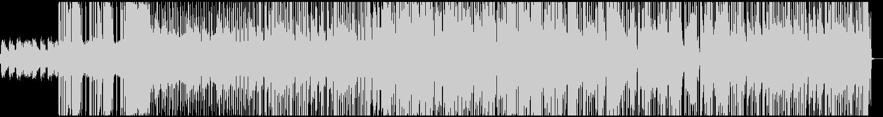 ローファイ、チルアウトなイメージの曲の未再生の波形