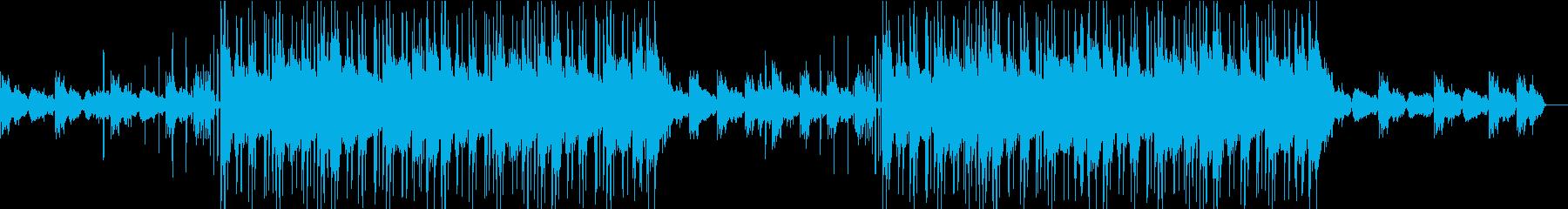 穏やかなLo-Fi Beatsの再生済みの波形