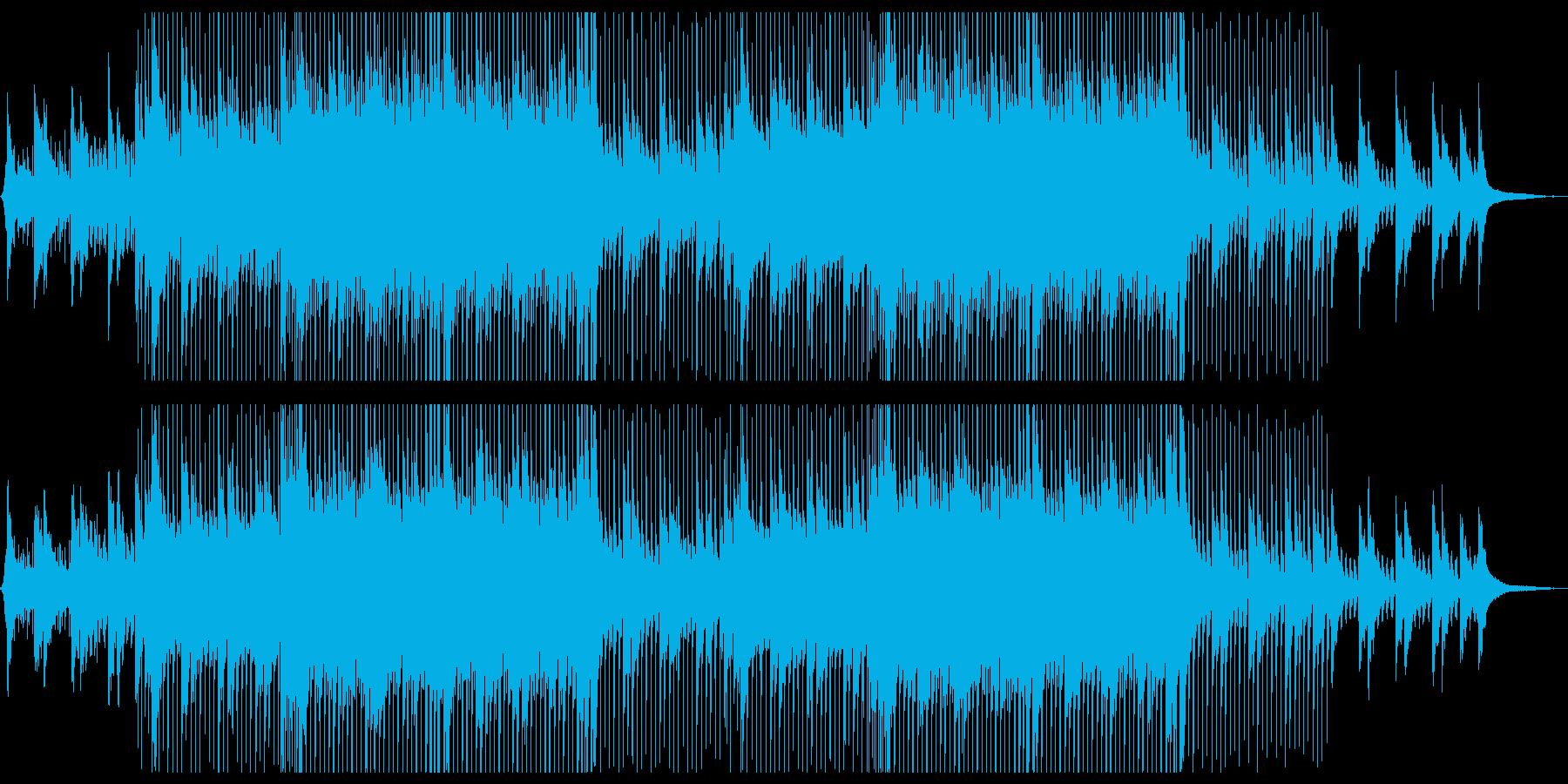 【メロ抜き】綺麗で爽やかなコーポレートムの再生済みの波形