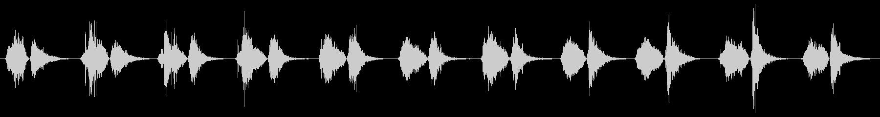 モンスター いびき02の未再生の波形