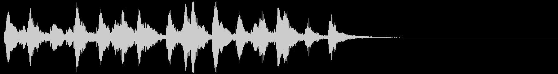 のほほんジングル039_元気+3の未再生の波形