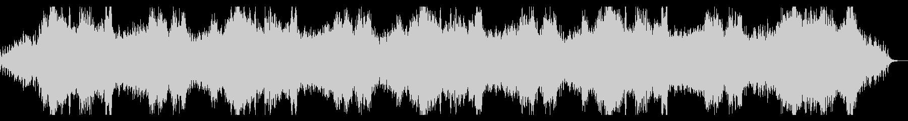 シネマチックで淡々とダークなホラーBGMの未再生の波形