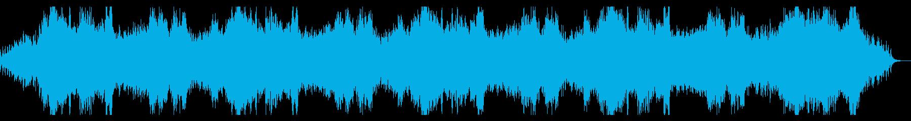 シネマチックで淡々とダークなホラーBGMの再生済みの波形