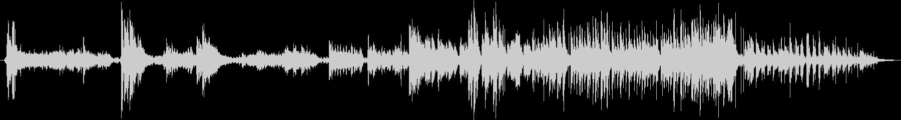 エスニック。伝統的な即興の歌。アフ...の未再生の波形