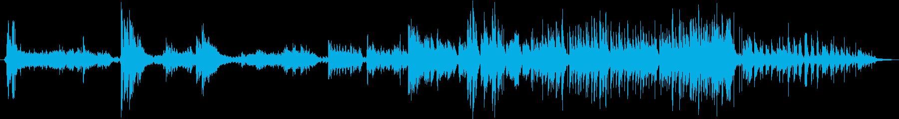 エスニック。伝統的な即興の歌。アフ...の再生済みの波形