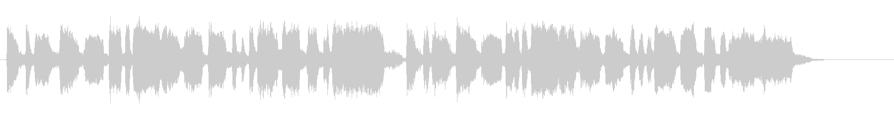 明るく煌びやかトランペットファンファーレの未再生の波形