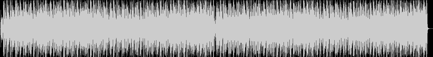 ワイワイ楽しいカントリーBGMの未再生の波形