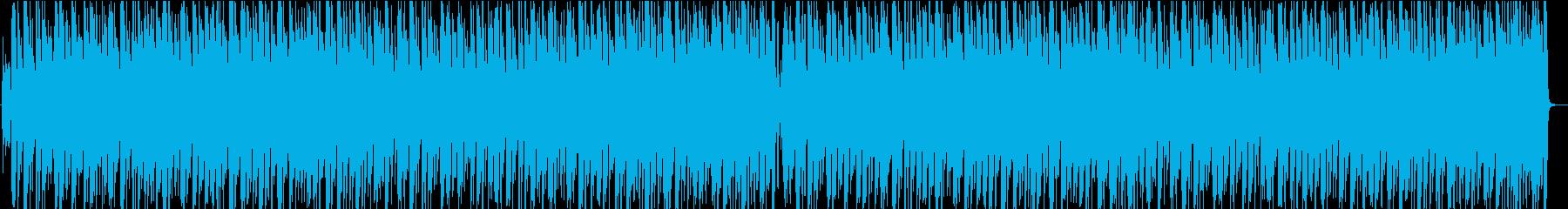 ワイワイ楽しいカントリーBGMの再生済みの波形