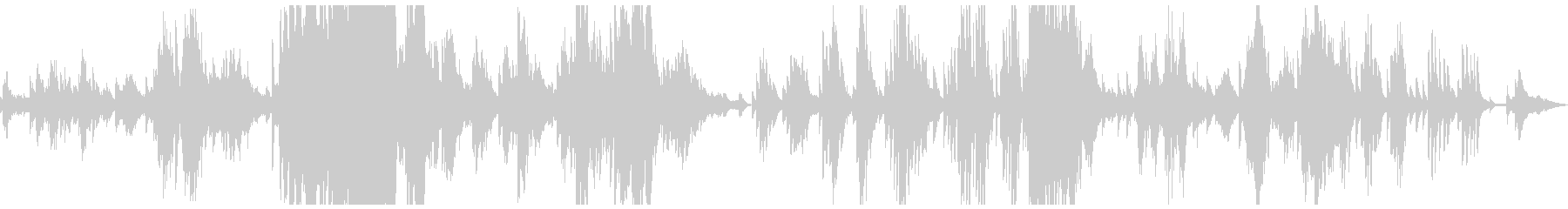 ドビュッシー「夢」ピアノ打ち込みの未再生の波形