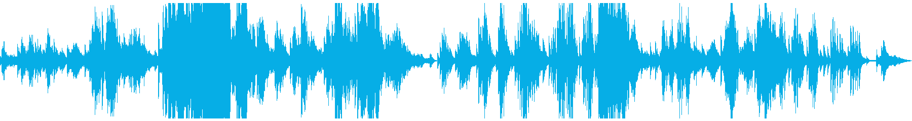 ドビュッシー「夢」ピアノ打ち込みの再生済みの波形