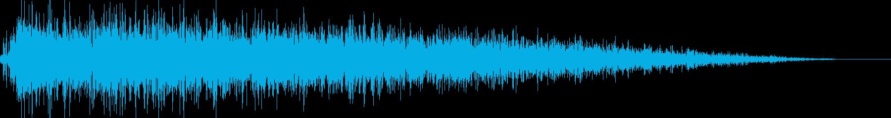 ロボット足音 タイプ10の再生済みの波形