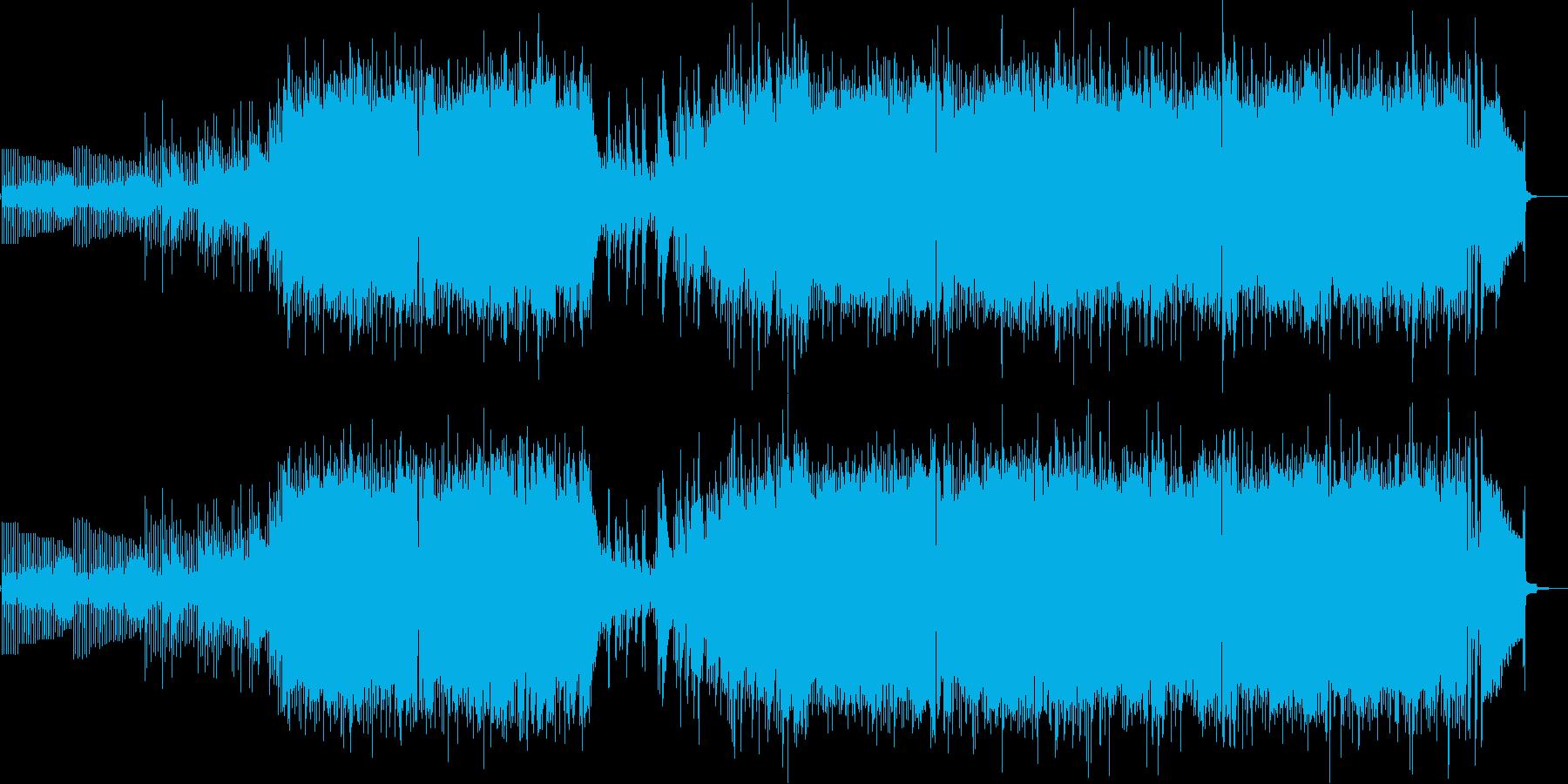 羽ばたけ未来へ!エレキギターのポップスの再生済みの波形