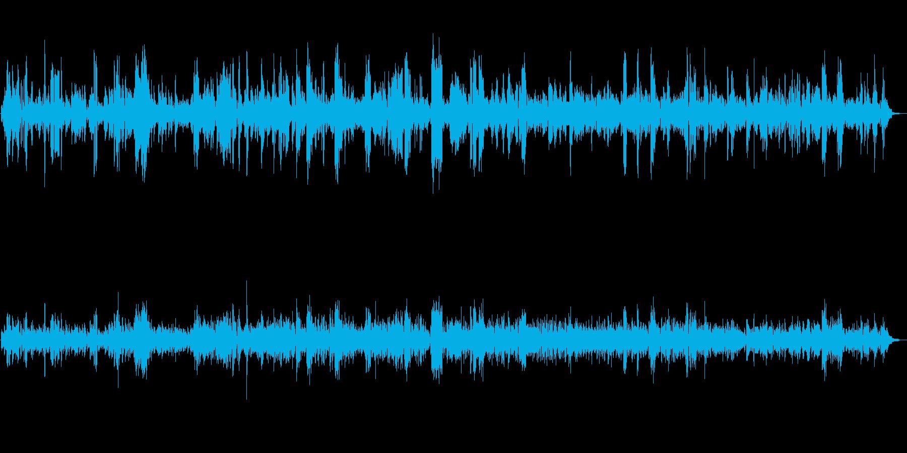 爽やかな朝を演出するオシャレなジャズの再生済みの波形