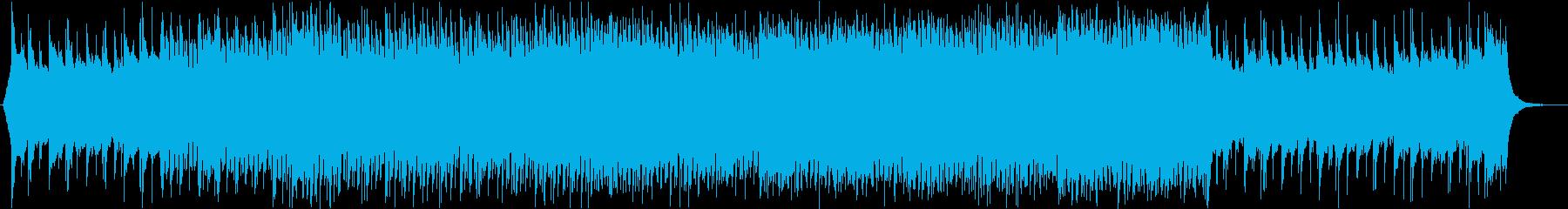 スタイリッシュな和風EDMの再生済みの波形