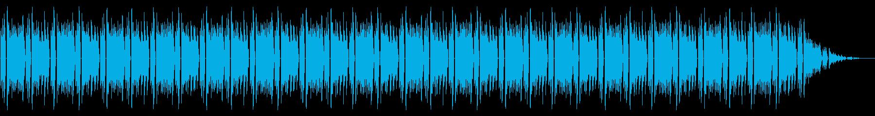 GB風スポーツ系格闘ゲームのリザルト曲の再生済みの波形